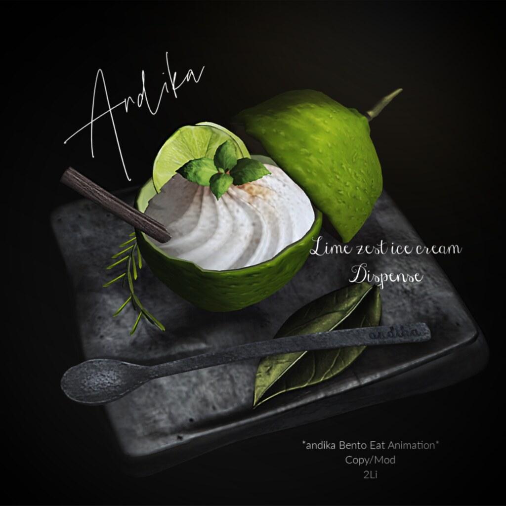 andika GG:LimeZest ice cream Dispenser