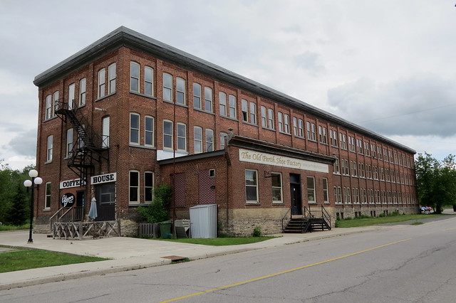 The Old Perth Shoe Factory (1905-1910) in Perth, Ontario
