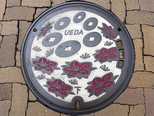 Ueda Nagano, manhole cover (長野県上田市のマンホール)
