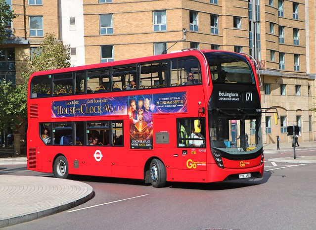 Go Ahead London Central - EH181 - YY67URK