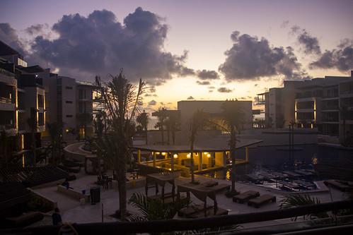 Sunrise, Royalton Riviera Cancun Resort & Spa, Mexico