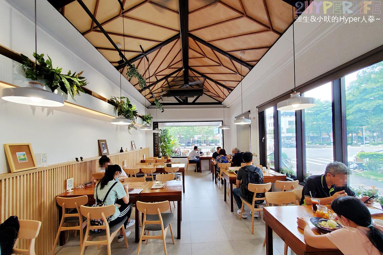 初綠餐廳 | 台中秘境早午餐、鬧中取靜的白色洋房庭院餐廳,在中國醫大附近想吃早午餐就選這裡啦~ @強生與小吠的Hyper人蔘~