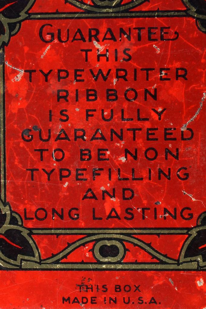 RD29478 Rare State of Minnesota Typewriter Ribbon Tin L.C. Smith DSC06434