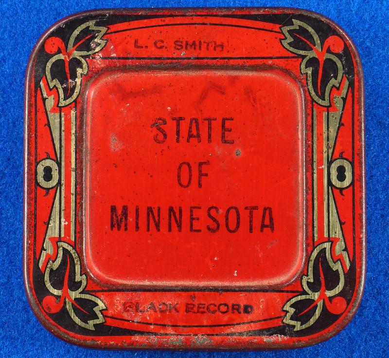 RD29478 Rare State of Minnesota Typewriter Ribbon Tin L.C. Smith DSC06430
