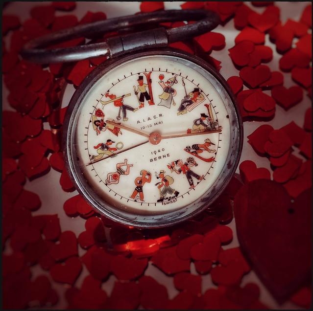 The hours and the months - Old Watch - childhood