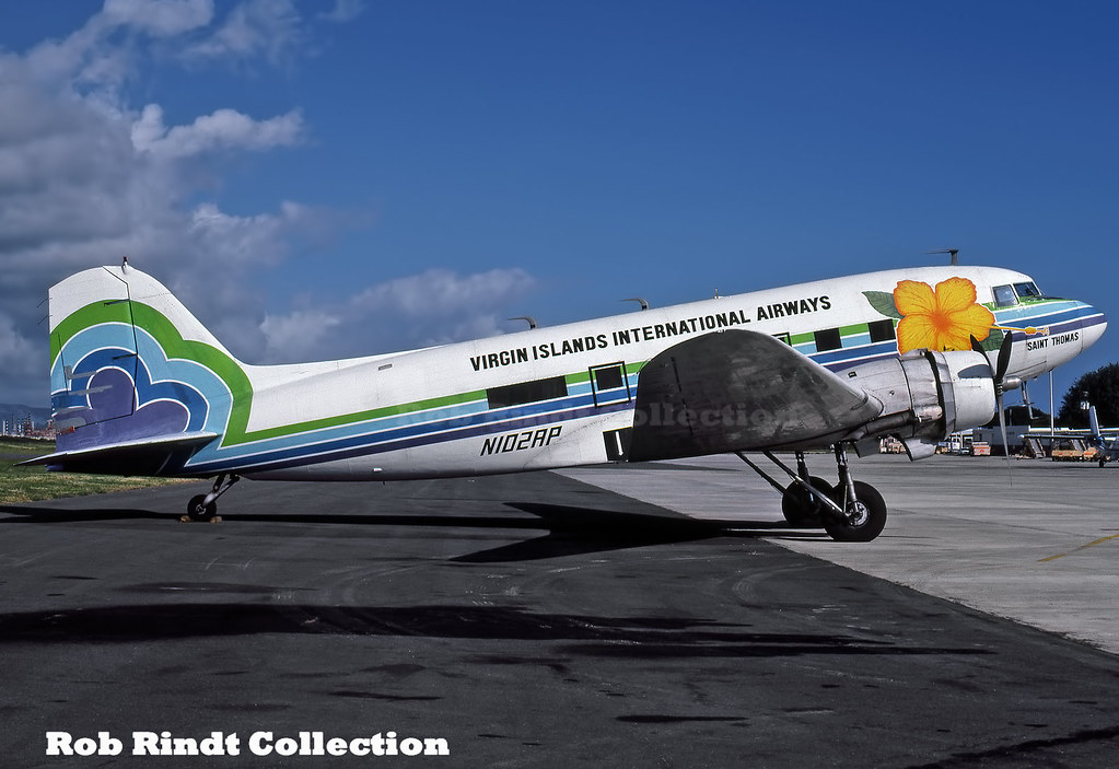Virgin Islands International Airways DC-3 N102AP