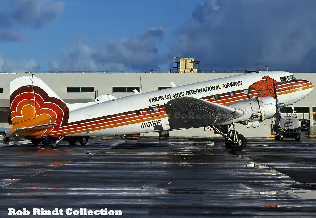 Virgin Islands International Airways DC-3 N101AP