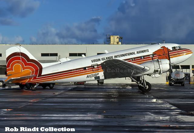 Virgin Islands International Airways DC-3 N101AP