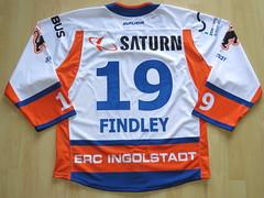 #19 Brett FINDLAY Game Worn Jersey