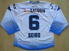 #6 Steven SEIGO Game Worn Jersey