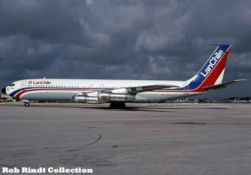 LAN Chile B707-321B CC-CEI