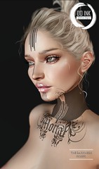 NEW DO INK TATTOO MORTAL Détail Face Exclusive The Darkness EVENT