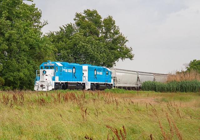 Rock Island Rail RI 4373 (GP38) Webb, Mississippi