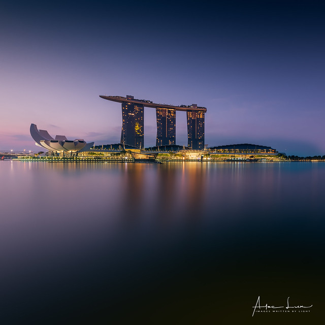 Early Morning At Marina Bay IV