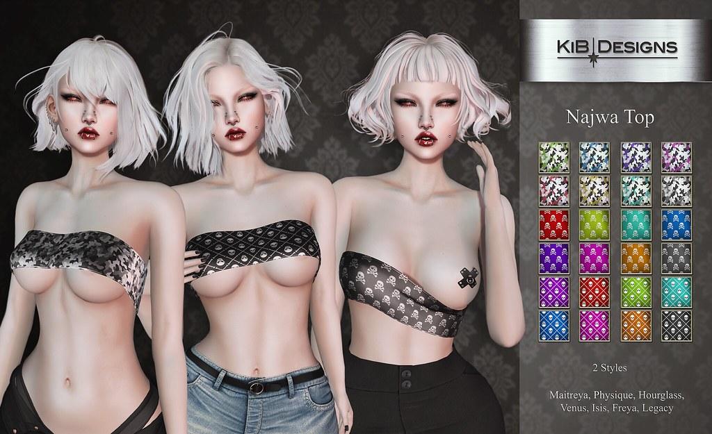 KiB Designs – Najwa Top @Suicide Dollz Event