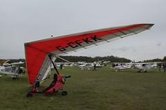 G-CFKK Flylight Airsports Dragonfly - Aeros Discus [007] Popham 060512