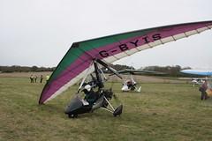 G-BYIS Solar Wings Pagasus [7508] Popham 060512