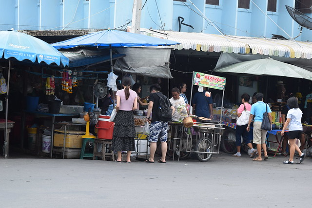 Maelong Station Market, Bangkok, Thailand