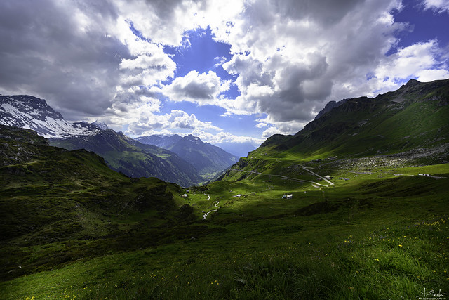 Mountain view from Klausenpass - Uri - Switzerland
