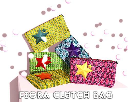 P&M FIORA CLUTCH BAG GIFT