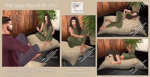 ONE-Single Pillow Sit 001 (PG) GIFT!