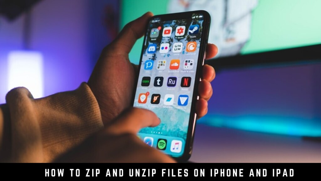 How to Zip and Unzip Files on iPhone and iPad