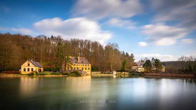 Le lac de l'Abbaye d'orval