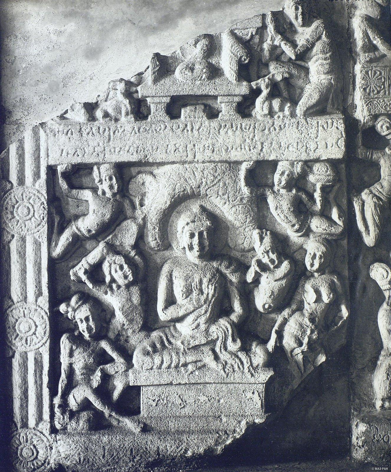 Рельеф с изображением Будды