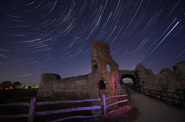 Castle Star Trails