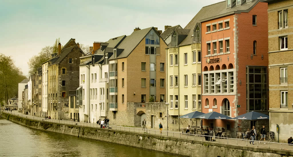 Doen in Namen (Namur) België: wandelen langs de Sambre | Mooistestedentrips.nl