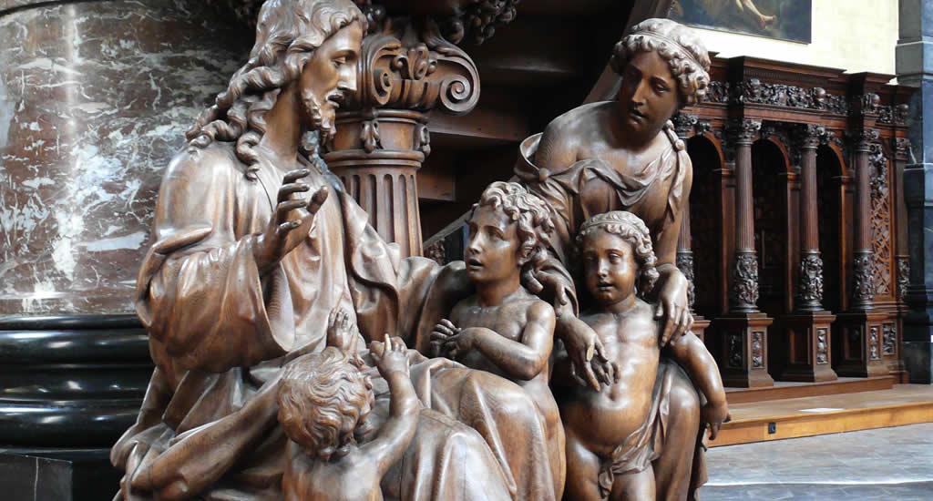 Bezienswaardigheden Namen (Namur) België, Église St. Loup | Mooistestedentrips.nl