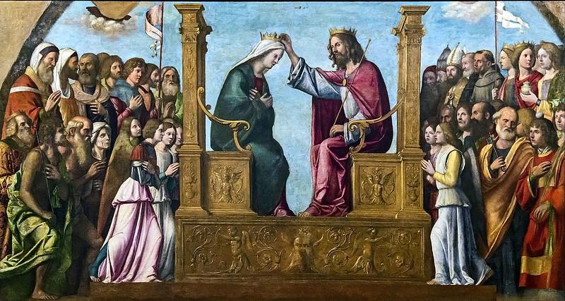 Right_transept_of_Santi_Giovanni_e_Paolo_(Venice)_-_Cima_da_conegliano,_incoronazione_della_vergine