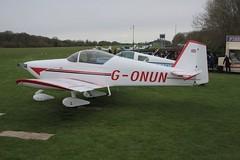 G-ONUN Vans RV-6A [PFA 181-12976] Popham 060512