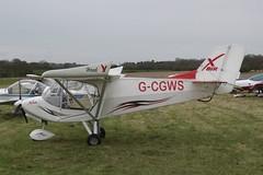 G-CGWS Raj Hamsa X'Air Hawk [LAA 340-15025] Popham 060512