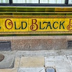 The Old Black Bull coloured tiles