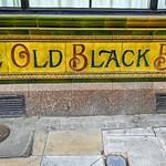 The Old Black Bull coloured tiles
