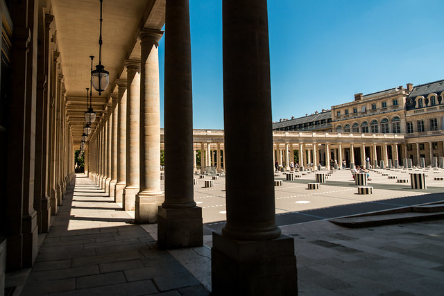 Les colonnes Buren