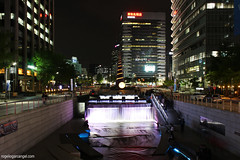 Seoul:  Cheonggyecheon Stream
