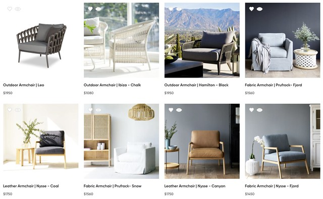 originals armchairs