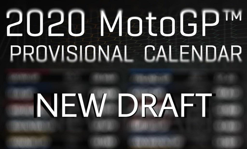MotoGP Calendar 2020 New Draft