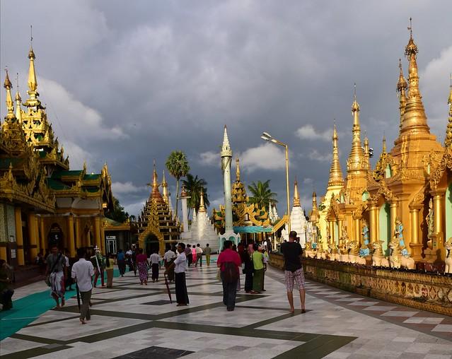 Shwedagon Paya,  Yangon, Myanmar 855