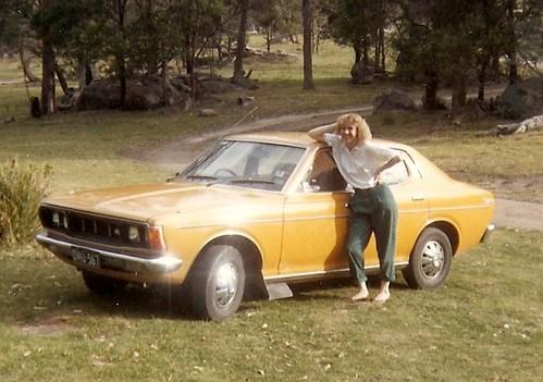 meu primeiro carro um Datsun 180B