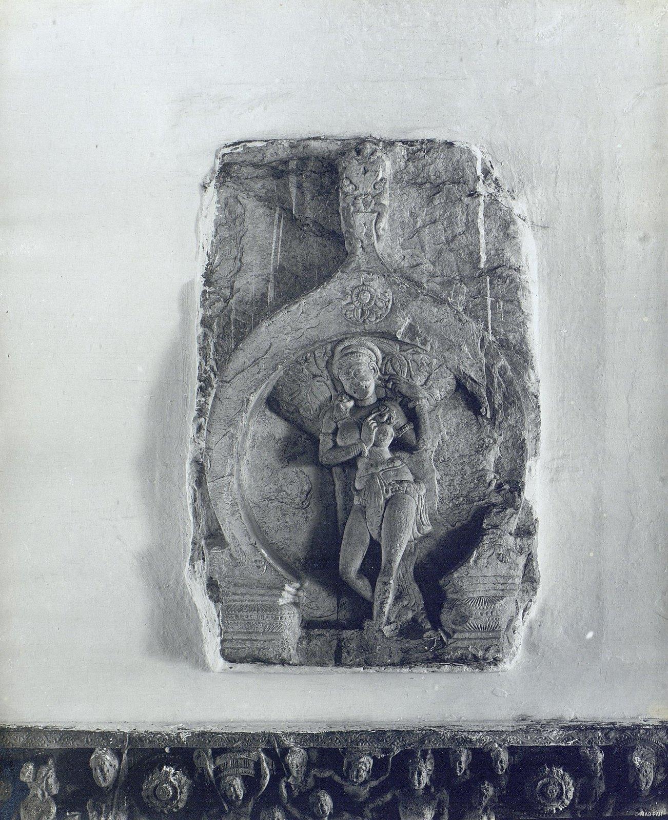 Рельеф с женской фигурой