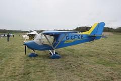 G-CFKE Raj Hamsa X'Air Hawk [PFA 340-14752] Popham 060512
