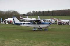 G-ARMN Cessna 175B [56994] Popham 060512