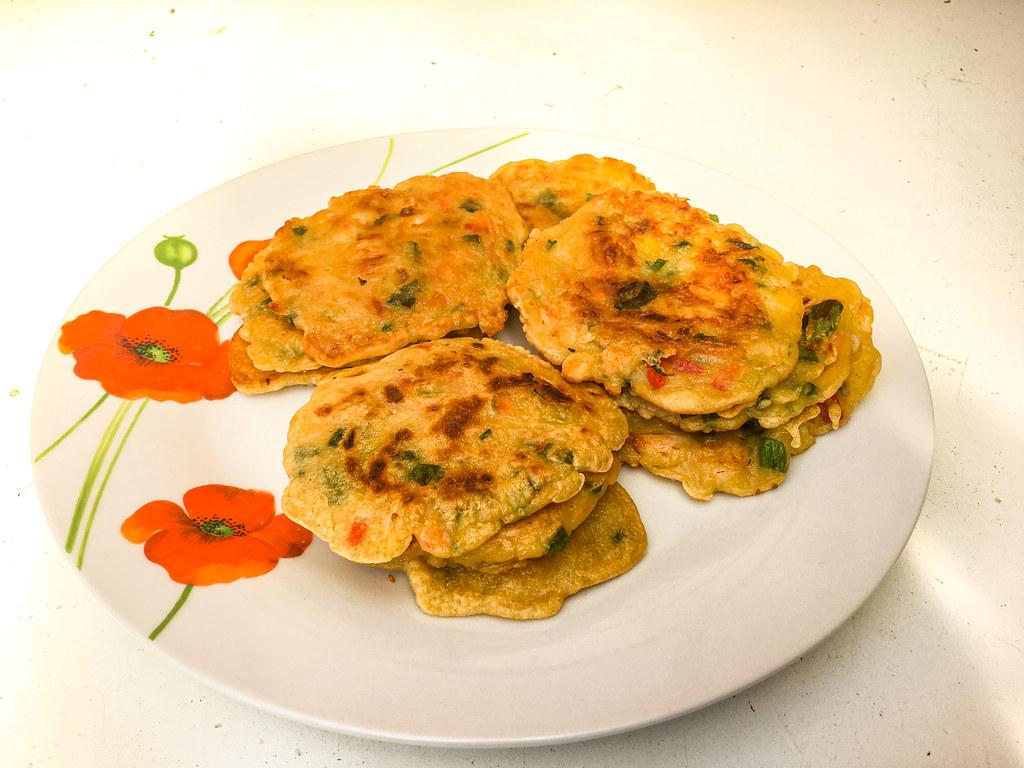 Korean seafood Pancakes, Haemui-jeon
