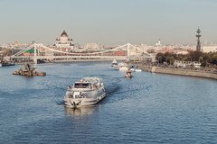 River Moscow.