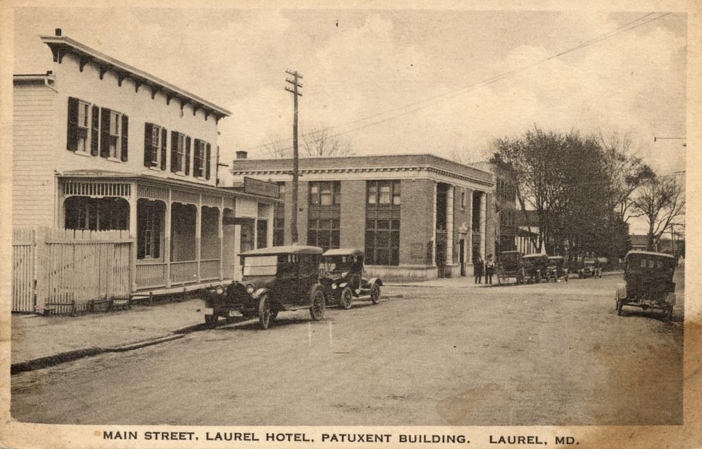 Laurel MD Main Street and Washington Blvd