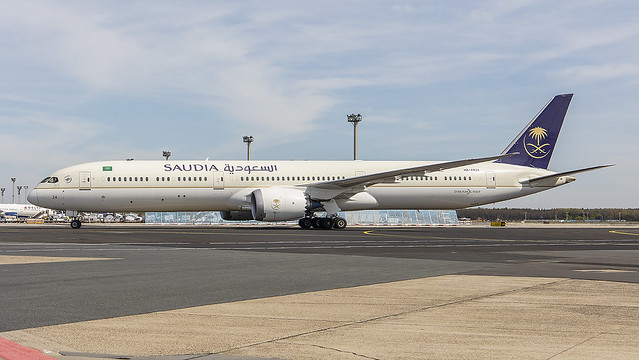 HZ-AR24, Boeing 787-10 Saudia @ Frankfurt FRA EDDF
