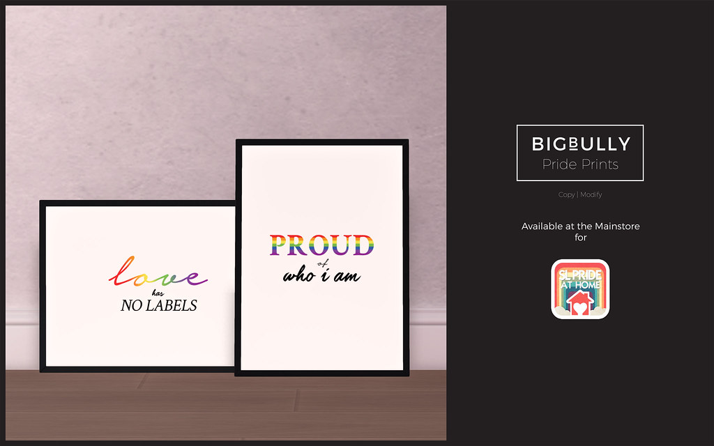 BIGBULLY Pride Prints